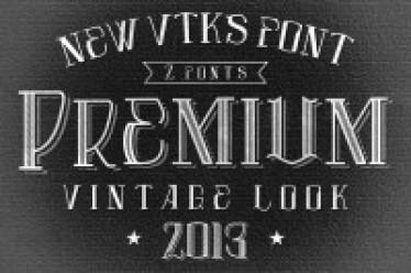 Vtks Premium new font