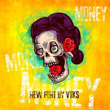 Money! New VTKS font