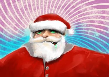 Zumbi Santa