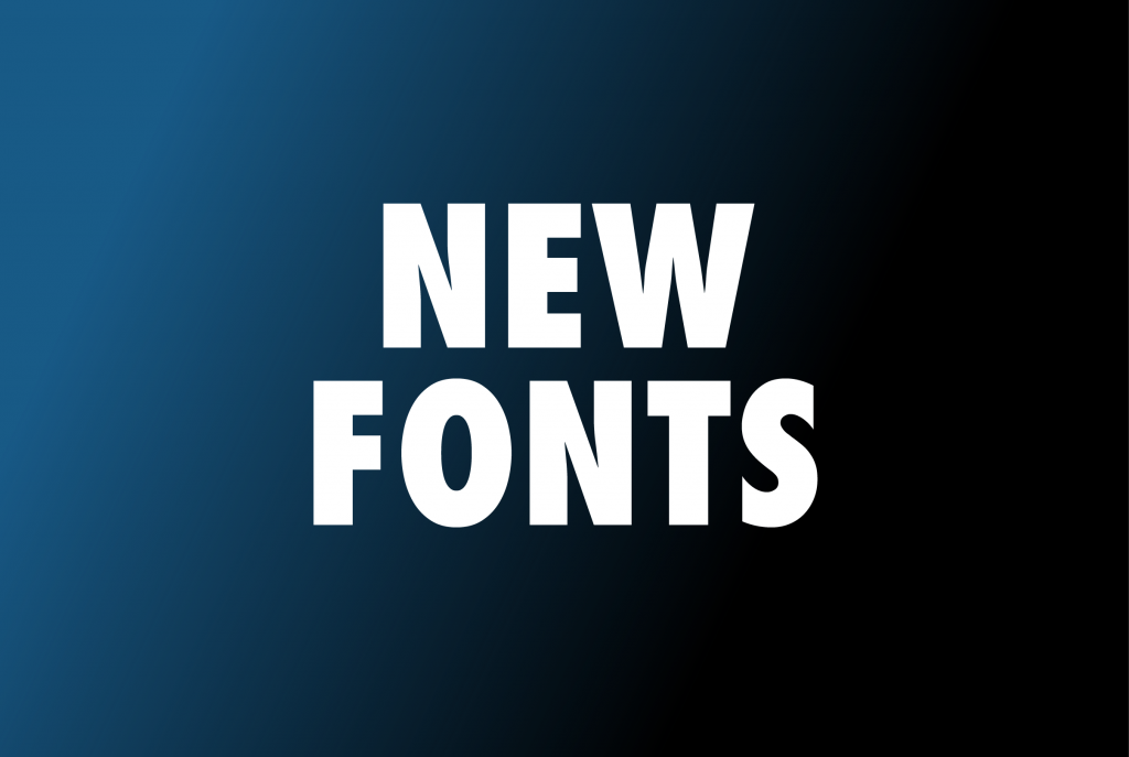 new-fonts